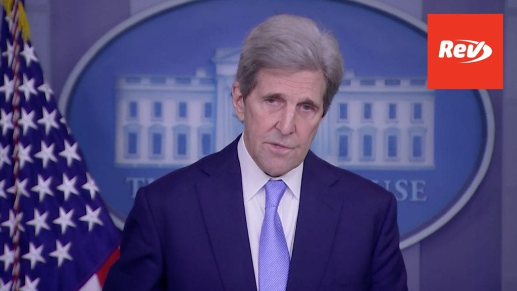 Press Secretary Jen Psaki, John Kerry White House Earth Day Press Conference Transcript April 22