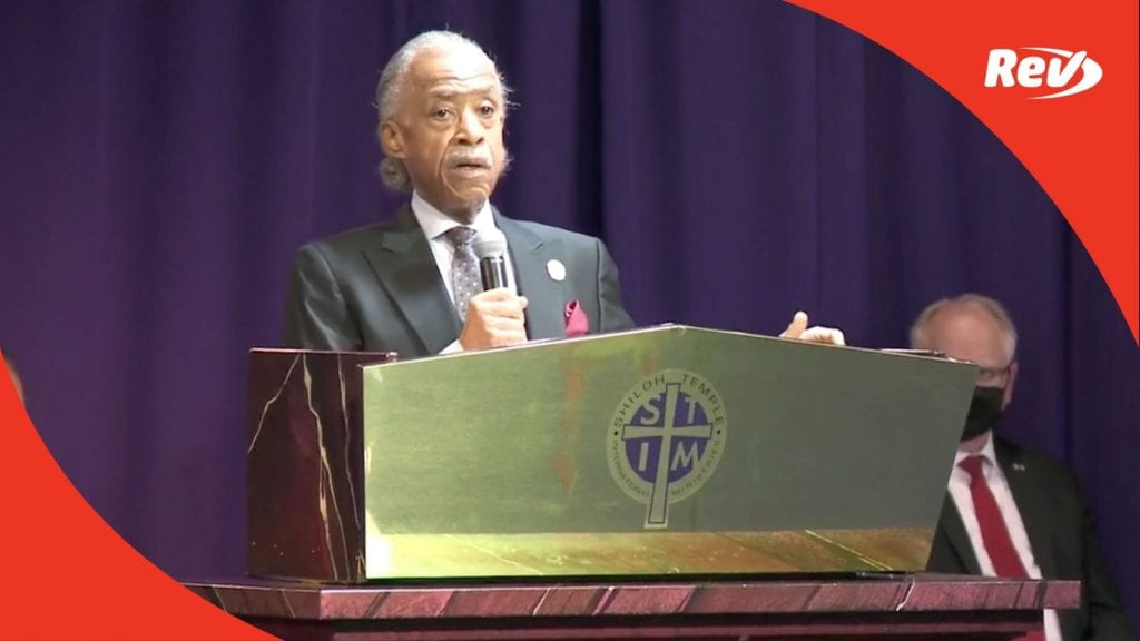 Daunte Wright Funeral Service Transcript: Rev. Al Sharpton, Ben Crump, Amy Klobuchar