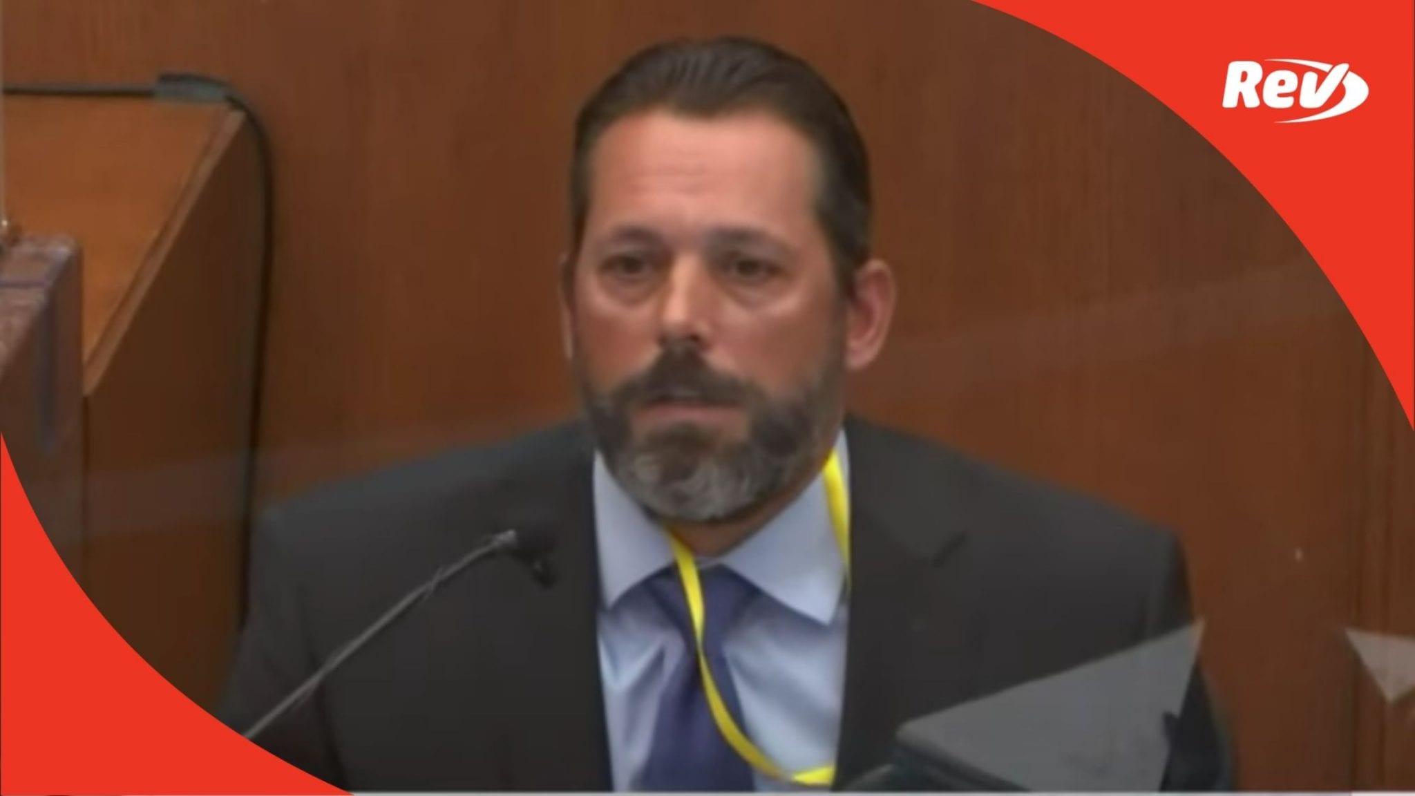 Prosecution Questions Lt. Johnny Mercil on Neck Restraints in Derek Chauvin Trial Testimony Transcript