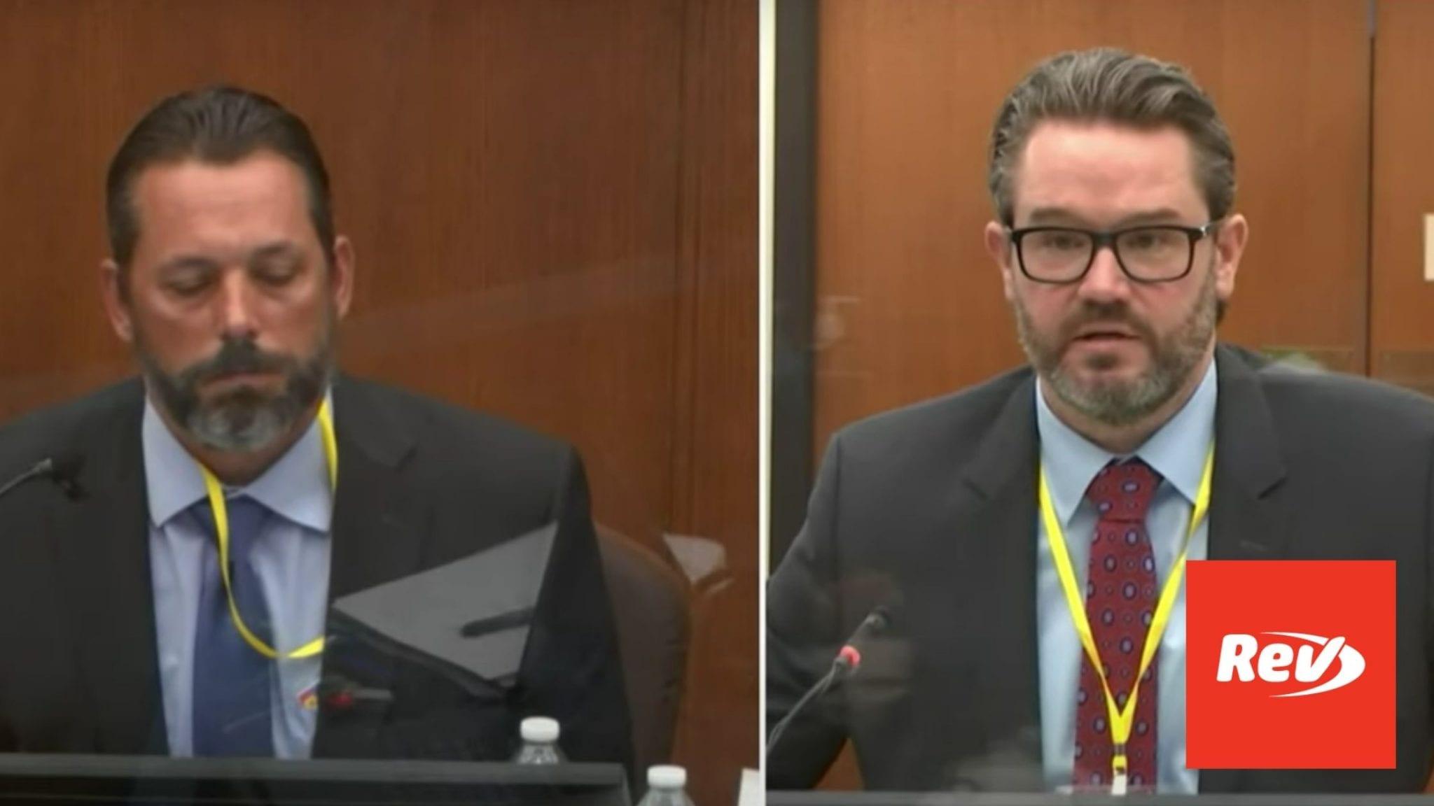 Defense Questions Lt. Johnny Mercil on Neck Restraints in Derek Chauvin Trial Testimony Transcript