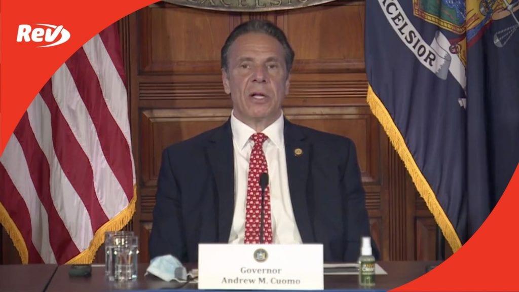 New York Gov. Andrew Cuomo COVID-19 Press Conference Transcript April 7