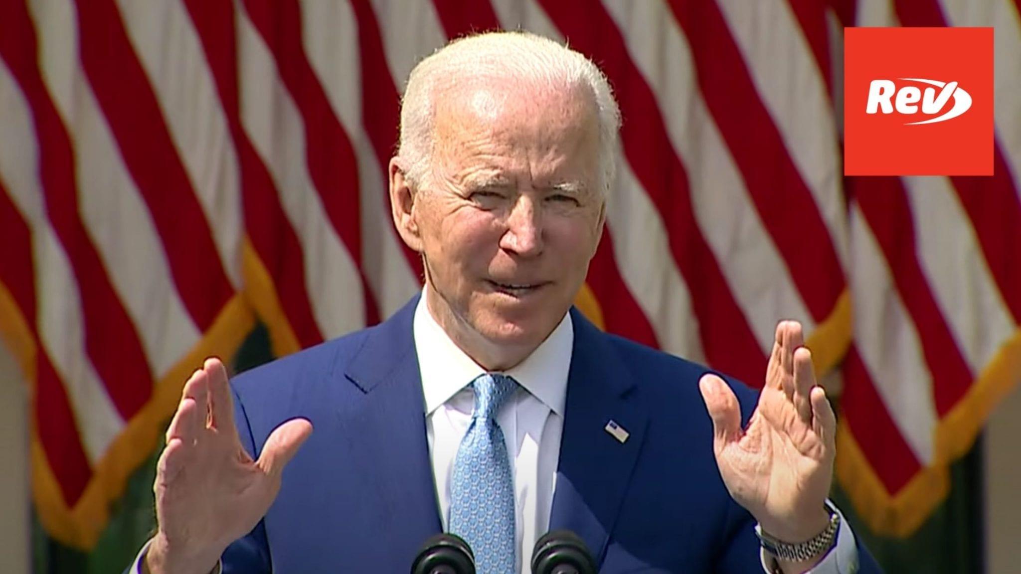 Joe Biden, Merrick Garland Press Conference Transcript: Action on Gun Violence Prevention