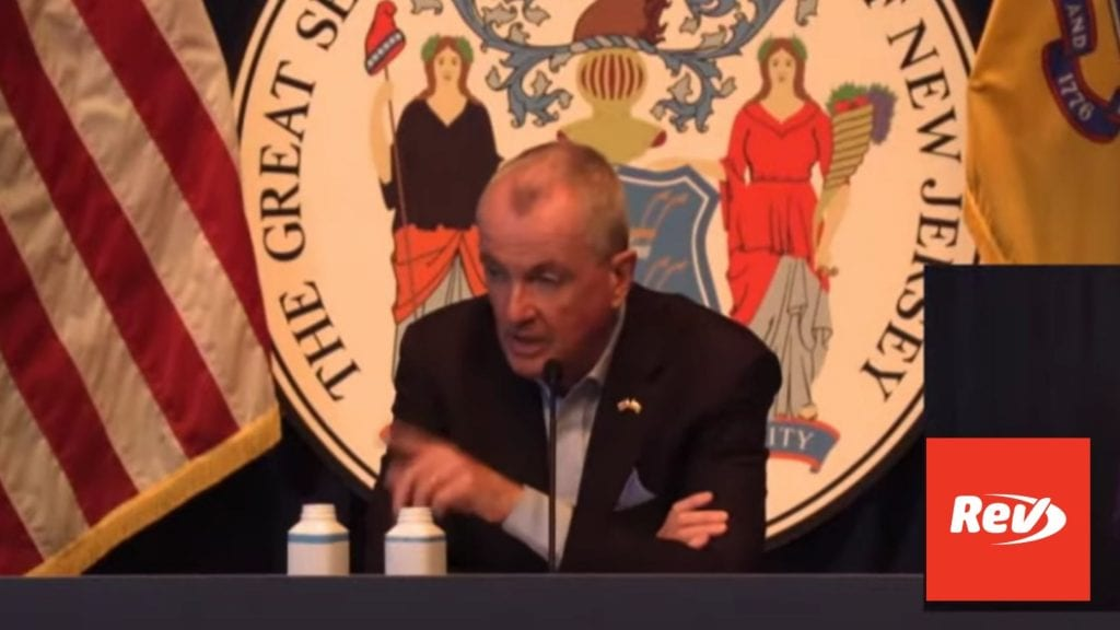 NJ Governor Phil Murphy COVID-19 Press Conference Transcript April 26