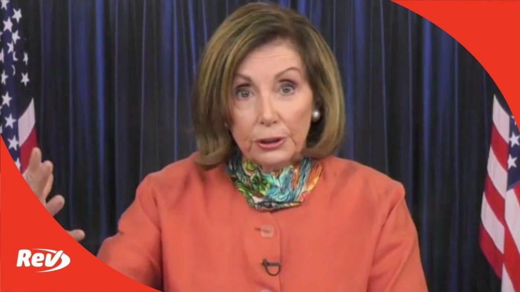 House Speaker Nancy Pelosi Weekly Press Conference Transcript April 8
