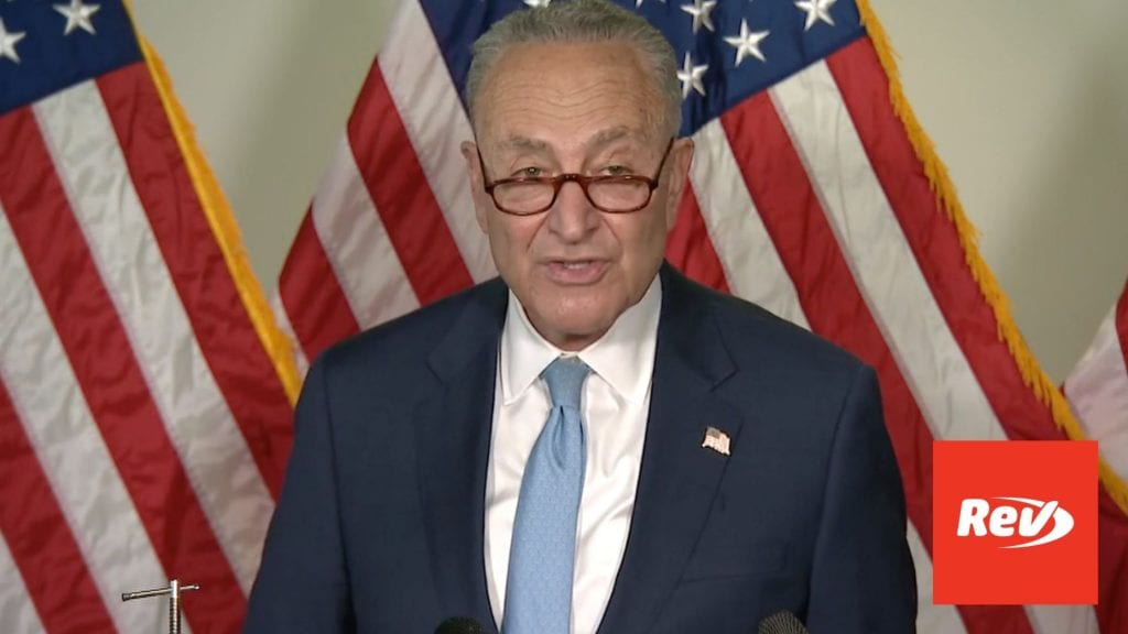 Senate Majority Leader Chuck Schumer Press Conference Transcript April 27