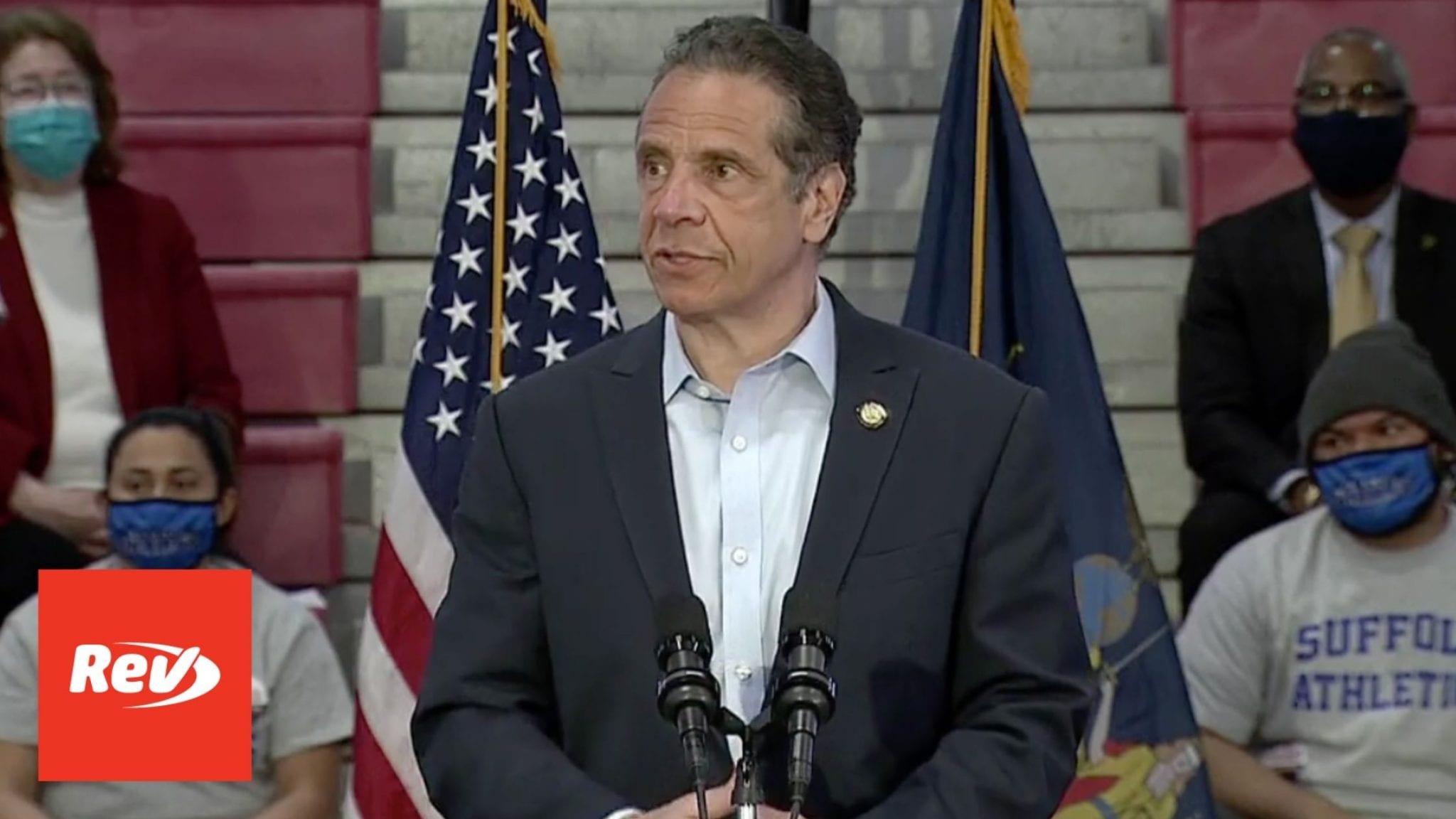New York Gov. Andrew Cuomo COVID-19 Press Conference Transcript April 12