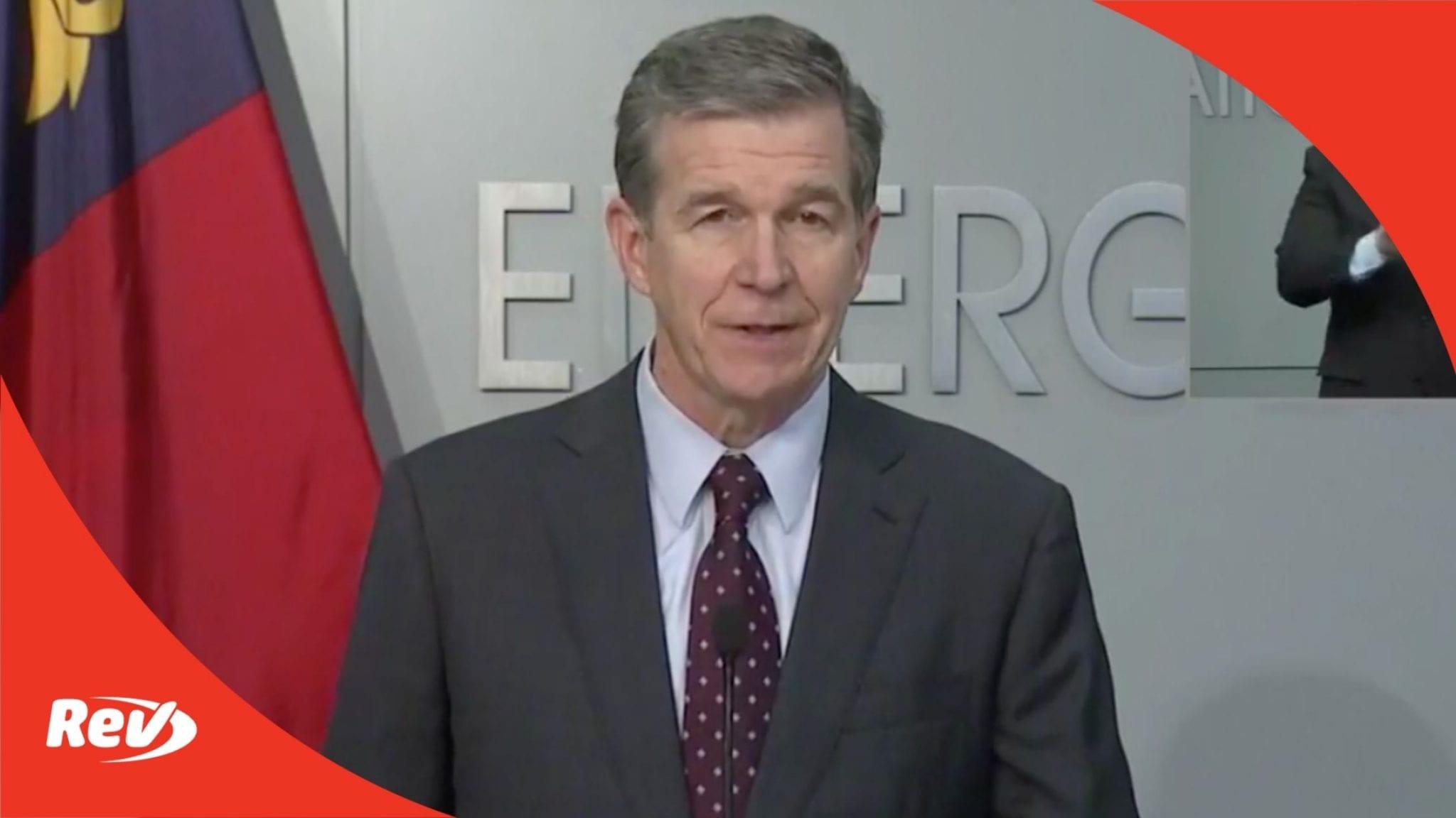 North Carolina Gov. Roy Cooper COVID-19 Press Conference Transcript April 28