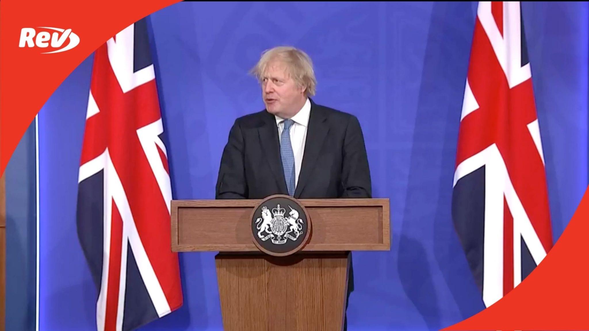 UK Prime Minister Boris Johnson COVID-19 Press Conference Transcript April 5
