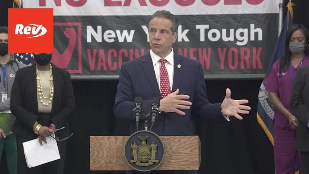 New York Gov. Andrew Cuomo COVID-19 Press Conference Transcript April 29