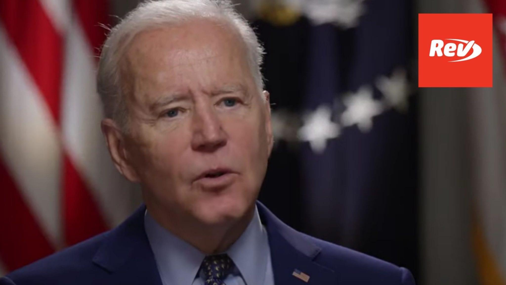 Joe Biden NBC TODAY Interview Transcript: Spending, COVID-19 Pandemic, Immigration