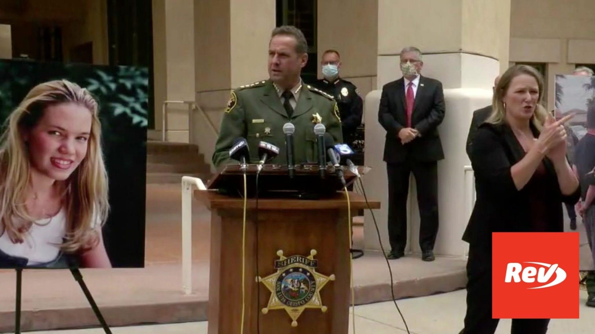 SLO Sheriff Press Conference Transcript April 13: Updates on Kristin Smart Case, Paul & Ruben Flores Arrested