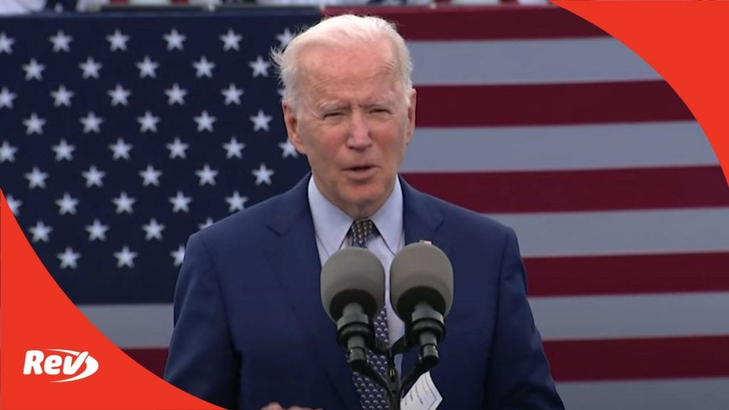 Joe Biden Georgia Speech Transcript: First 100 Days of Presidency, American Jobs Plan