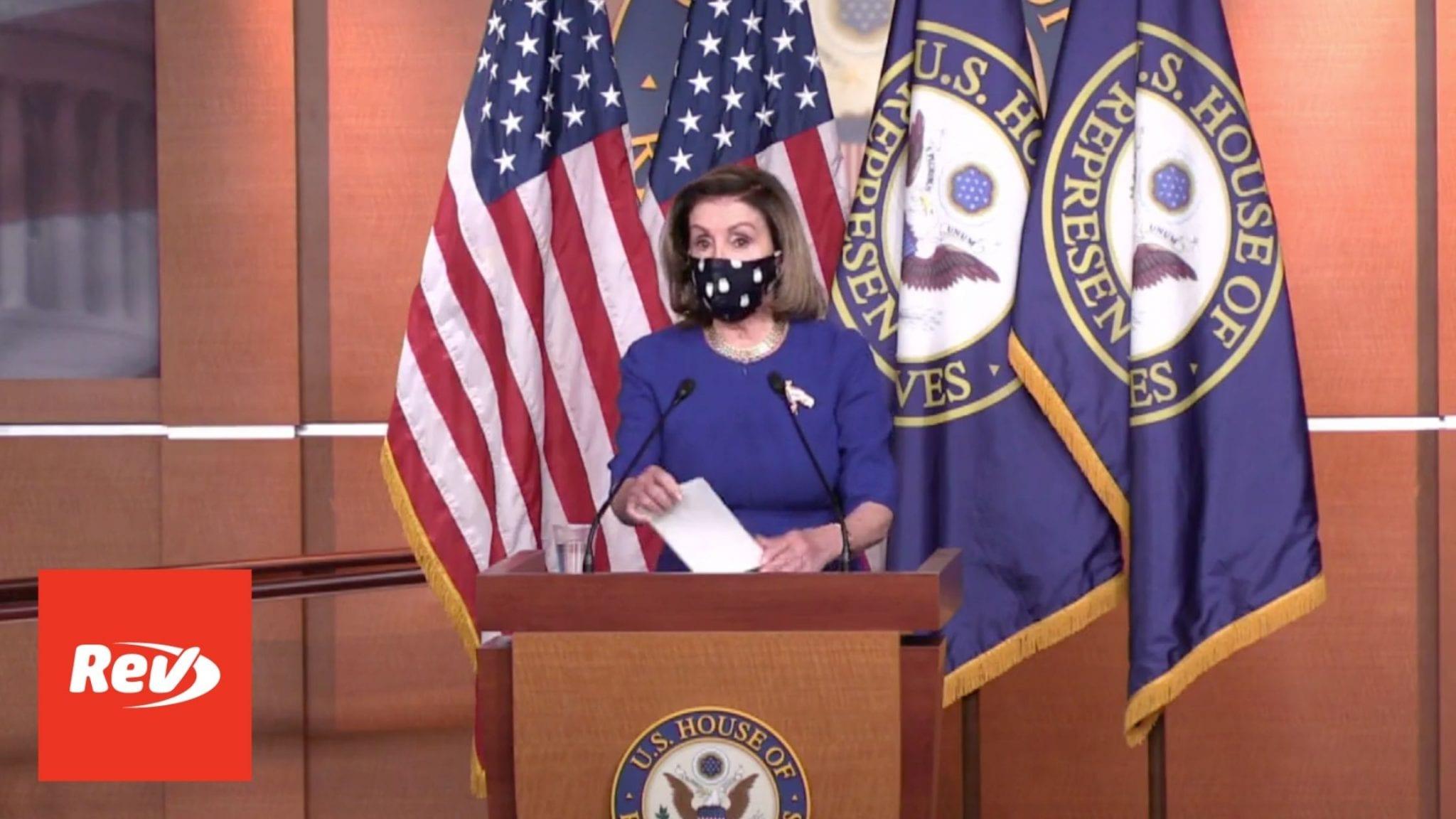 House Speaker Nancy Pelosi Weekly Press Conference Transcript April 15