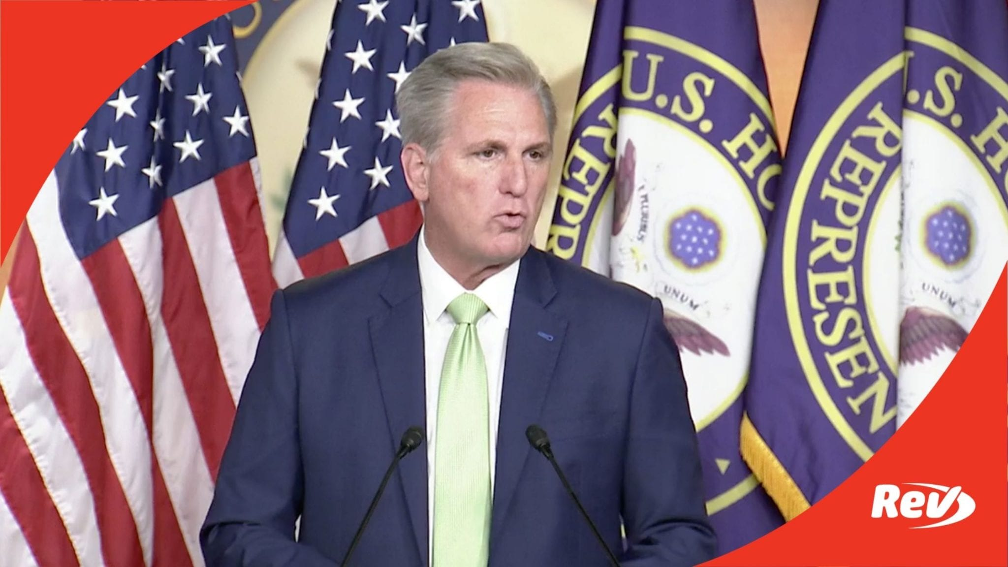 House Minority Leader Kevin McCarthy Weekly Press Conference Transcript April 15