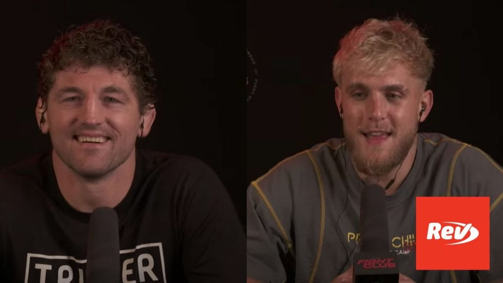 Jake Paul vs Ben Askren Pre-Fight Press Conference Transcript April 15
