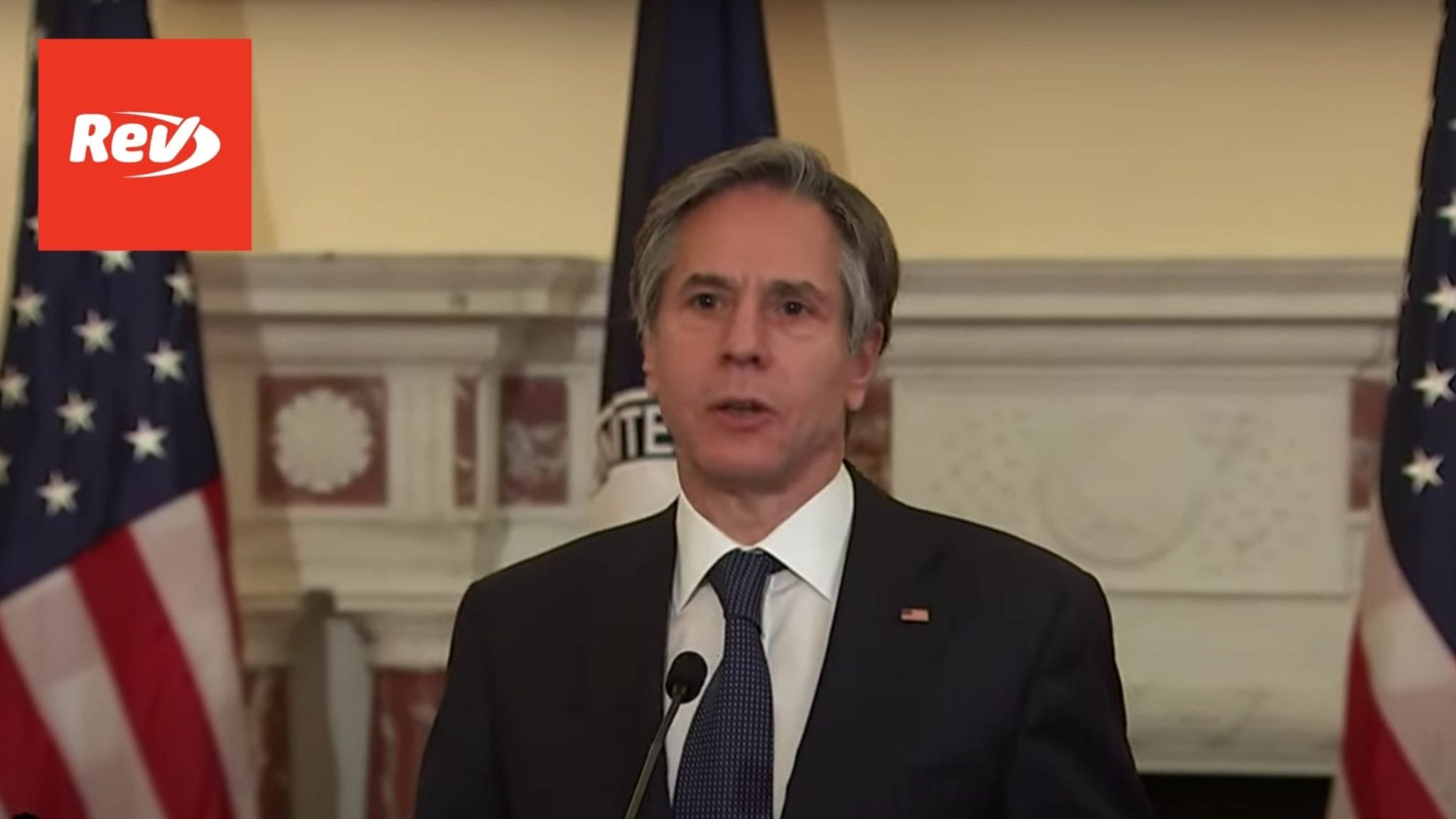 Secretary of State Antony Blinken Speech on COVID-19 Transcript April 5