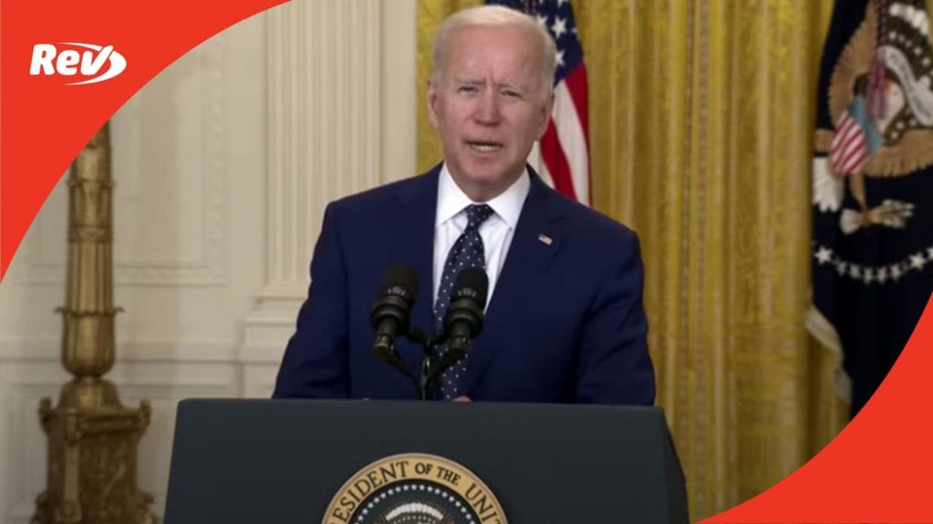 Joe Biden Speech on Russia After Issuing Sanctions Transcript April 15