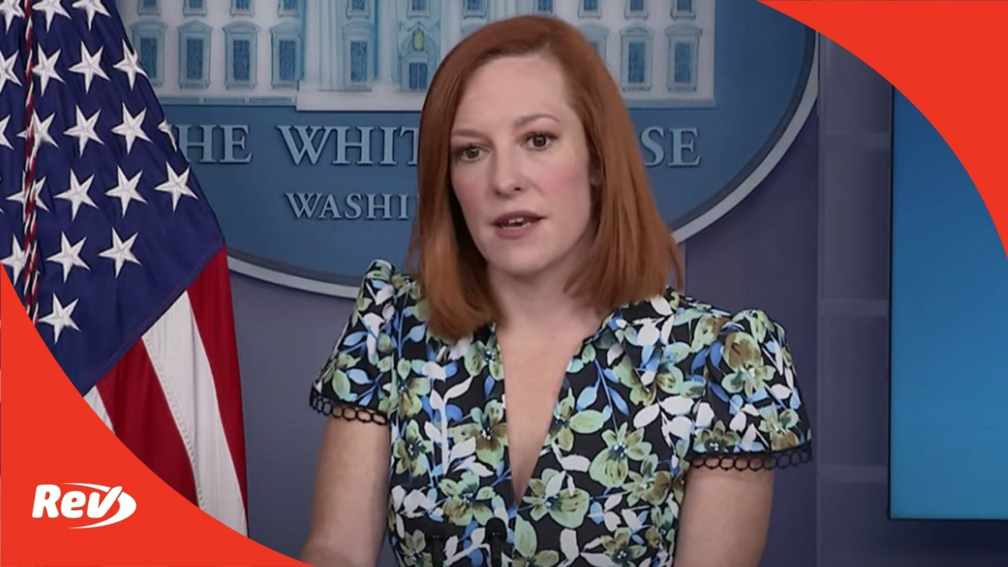 Press Secretary Jen Psaki White House Press Conference Transcript April 16