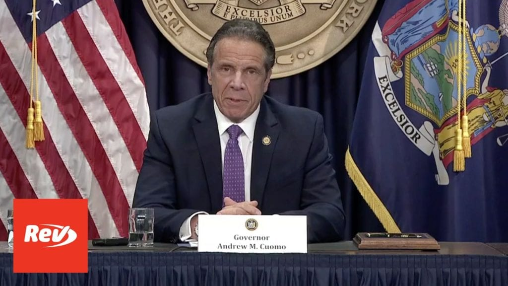 New York Gov. Andrew Cuomo COVID-19 Press Conference Transcript April 19