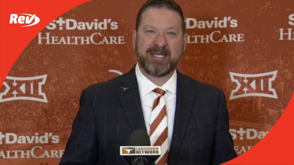 Chris Beard First Press Conference as UT Head Basketball Coach Transcript April 2