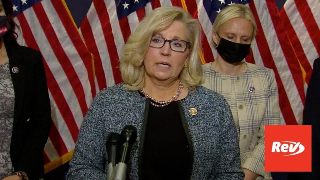 Liz Cheney, House GOP Leaders Press Conference Transcript April 20