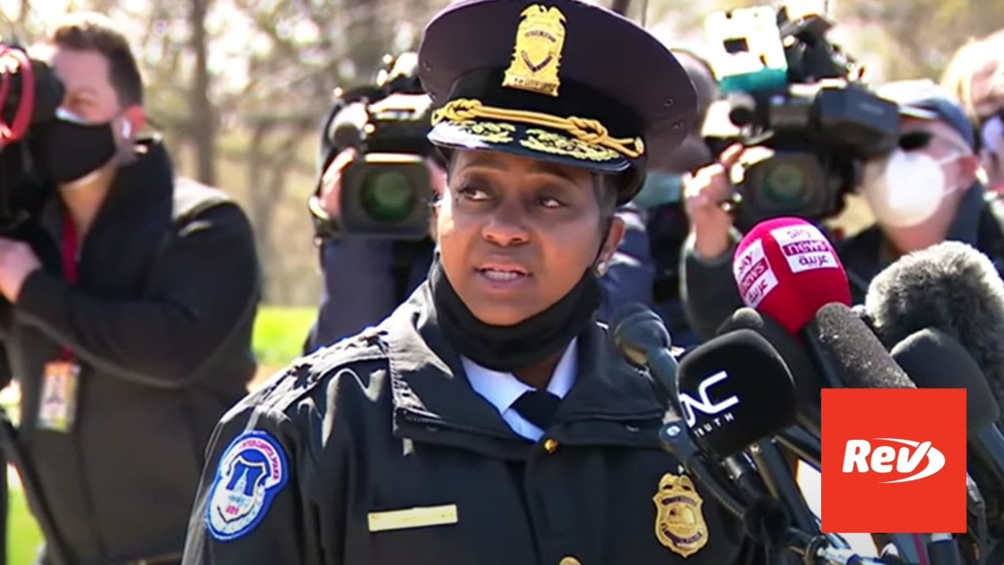 Capitol Police Press Conference on Capitol Vehicle Attack Transcript April 2