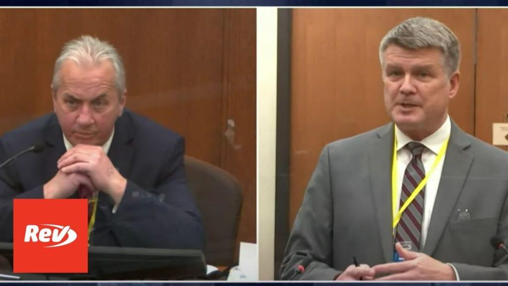 "Lt. Richard Zimmerman Testimony in Derek Chauvin Trial Transcript: Kneeling on Floyd's Neck ""Totally Unnecessary"""