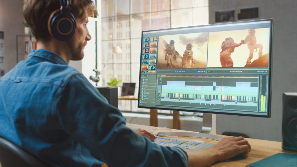 Video Editor Using Script-Based Editing Workflows