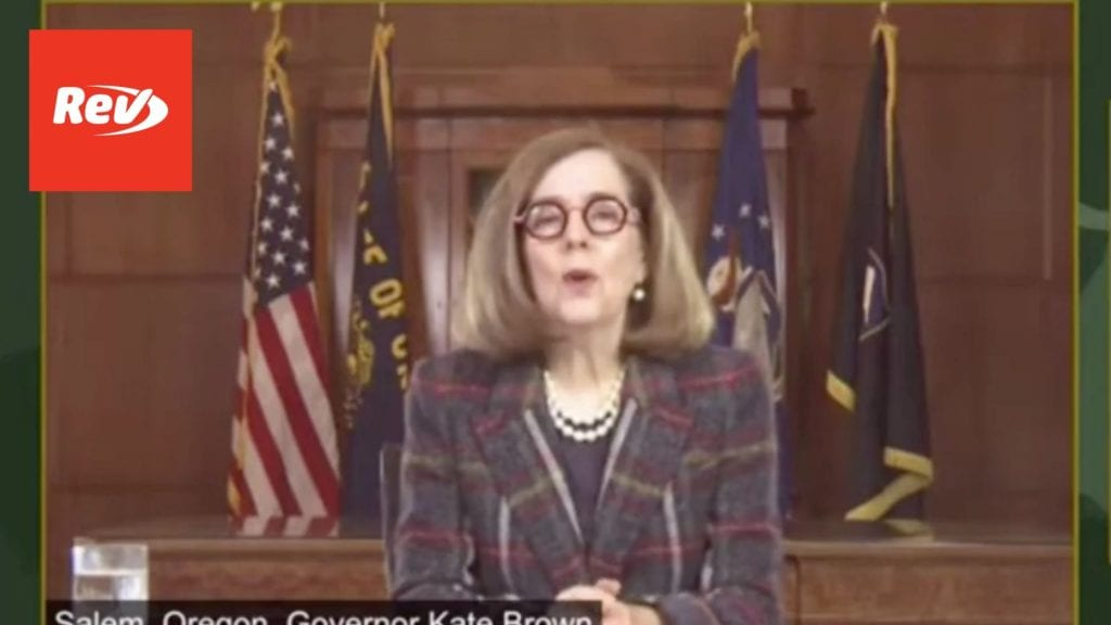 Oregon Governor Kate Brown COVID-19 Press Conference Transcript May 11
