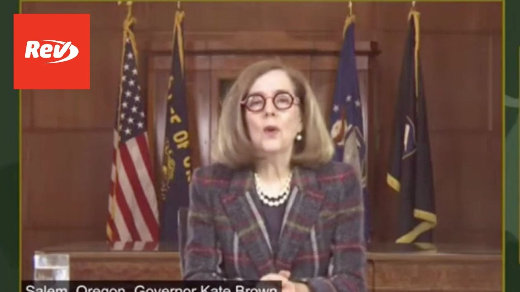Oregon Governor Kate Brown COVID-19 Press Conference Transcript May 11