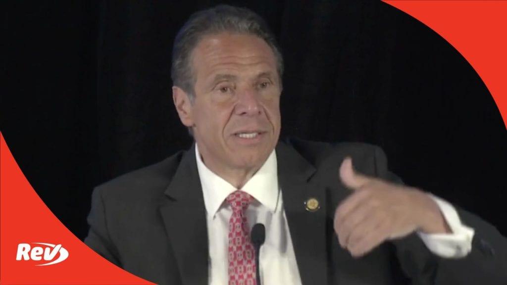 New York Gov. Andrew Cuomo COVID-19 Press Conference Transcript May 12
