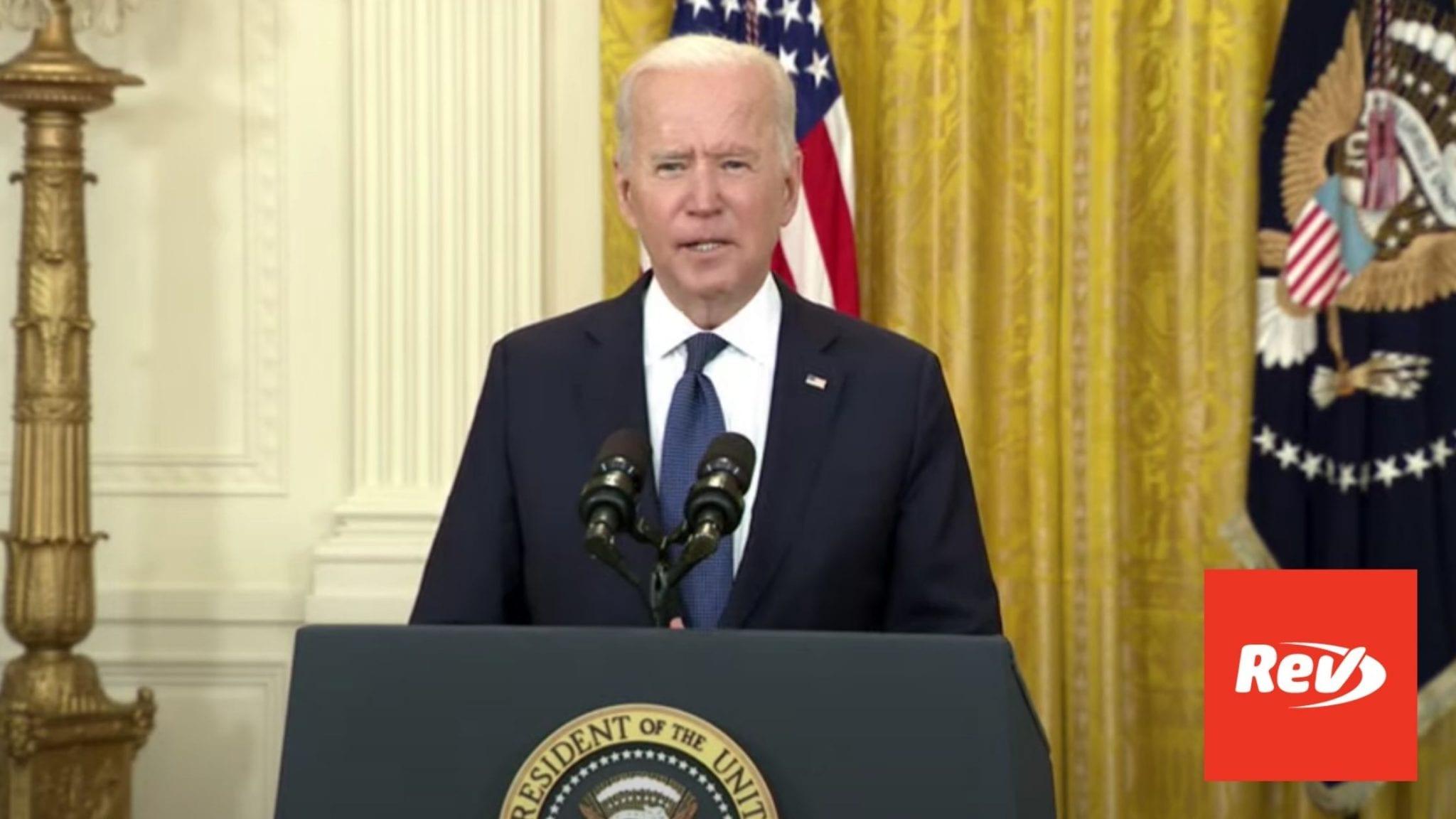 Joe Biden Speech on Economy Transcript May 10