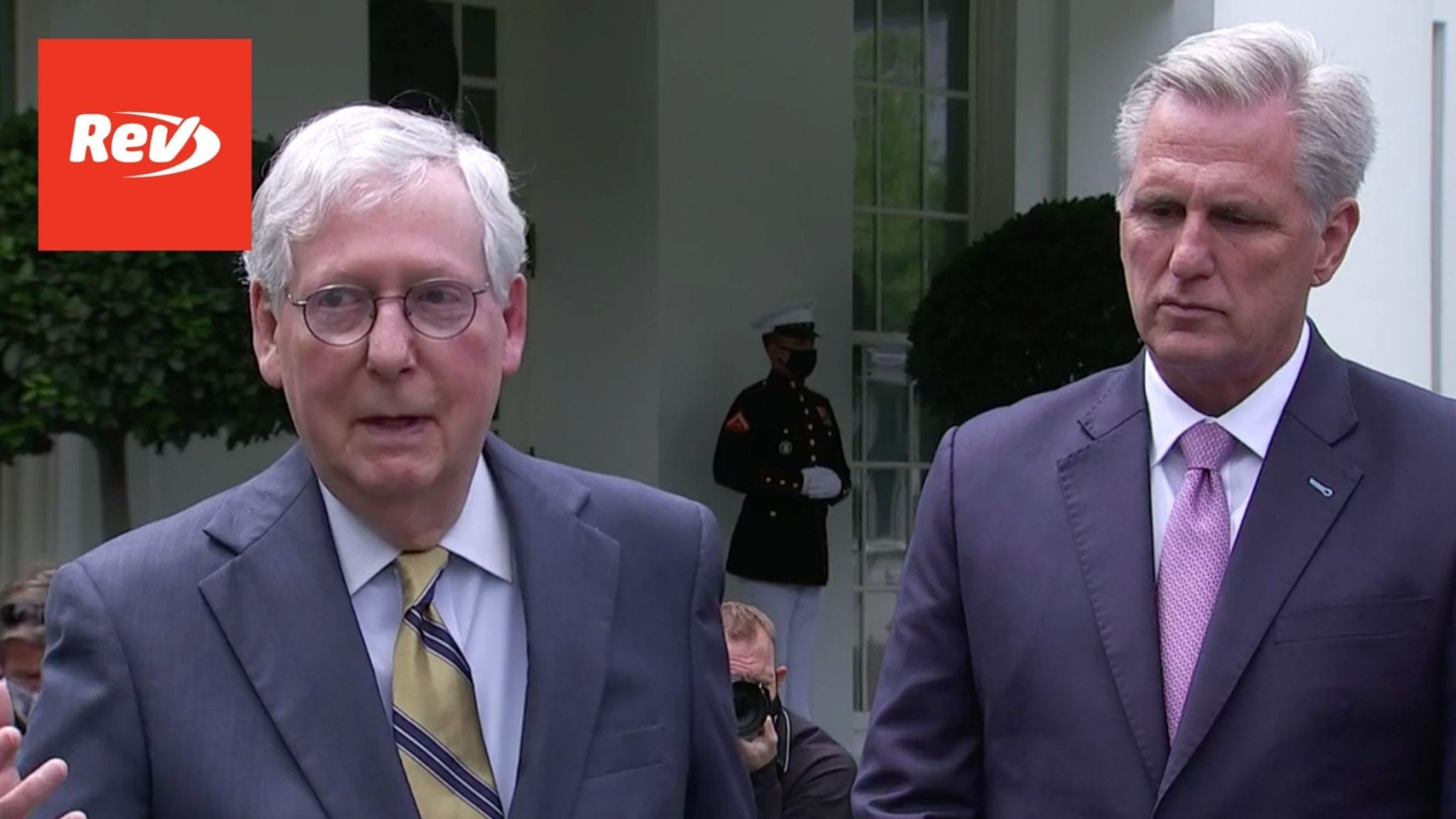 Mitch McConnell & Kevin McCarthy Speech After Meeting with Biden Transcript