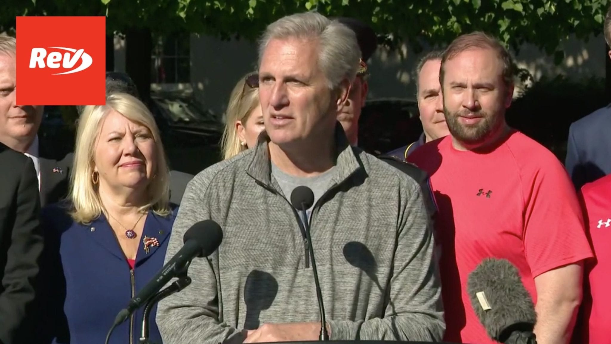 """Kevin McCarthy """"Back the Blue"""" Press Conference Transcript May 13"""