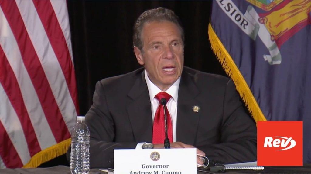 New York Gov. Andrew Cuomo COVID-19 Press Conference Transcript May 13