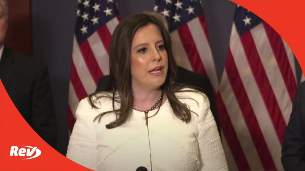 Elise Stefanik Replaces Liz Cheney in GOP Leadership Press Conference Transcript