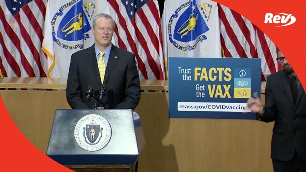 Massachusetts Governor Charlie Baker Press Conference Transcript May 17