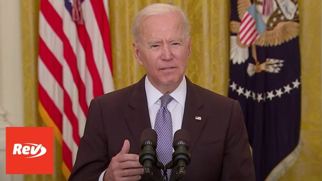 Joe Biden COVID-19 Vaccine, Child Tax Credit Speech Transcript May 17