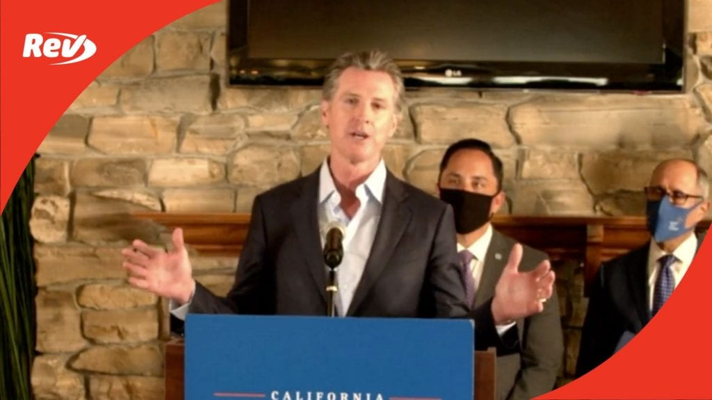 California Gov. Gavin Newsom Homelessness Crisis Response Press Conference Transcript May 11