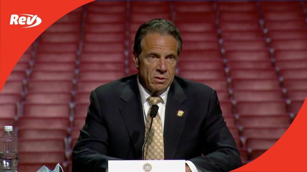 New York Gov. Andrew Cuomo COVID-19 Press Conference Transcript May 17