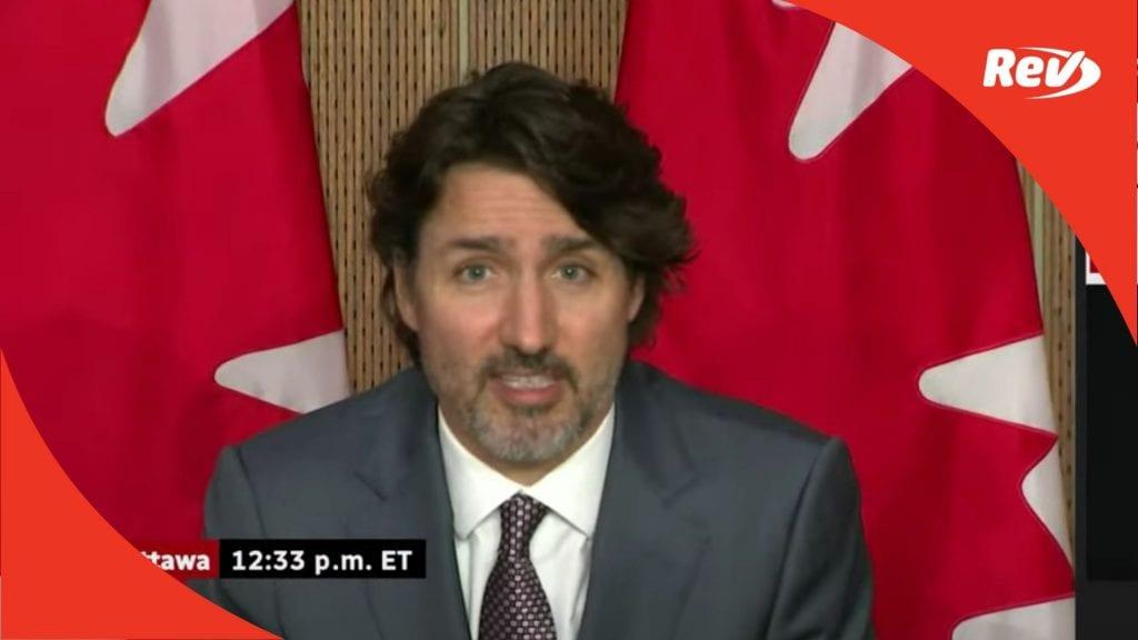 Justin Trudeau Canada COVID-19 Press Conference Transcript May 18