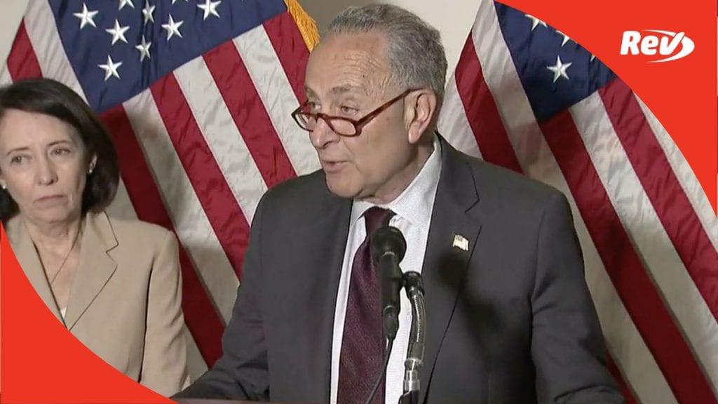 Chuck Schumer, Senate Democratic Leadership Press Conference Transcript May 18