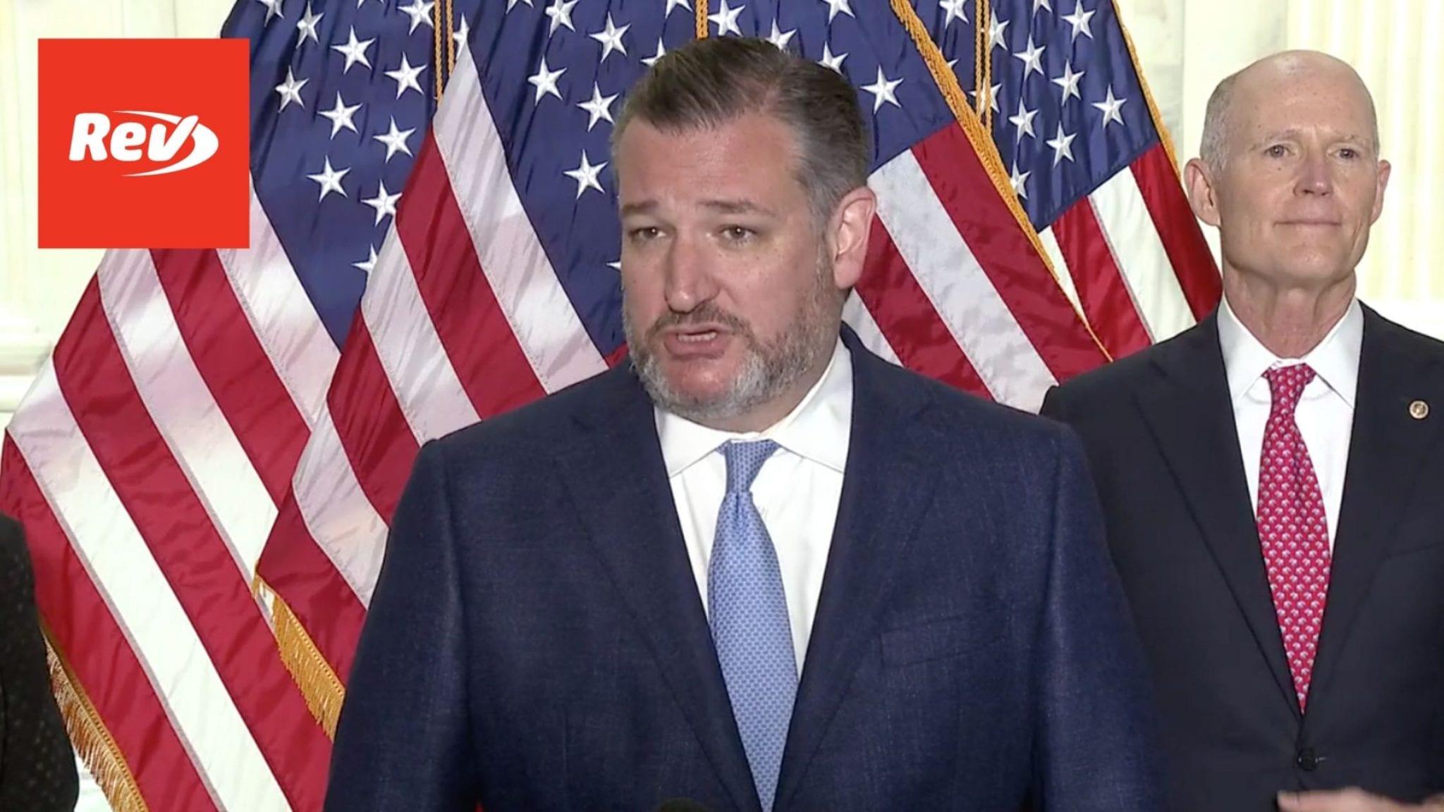 Ted Cruz, Senate GOP Press Conference Transcript May 19: Conflict in Israel
