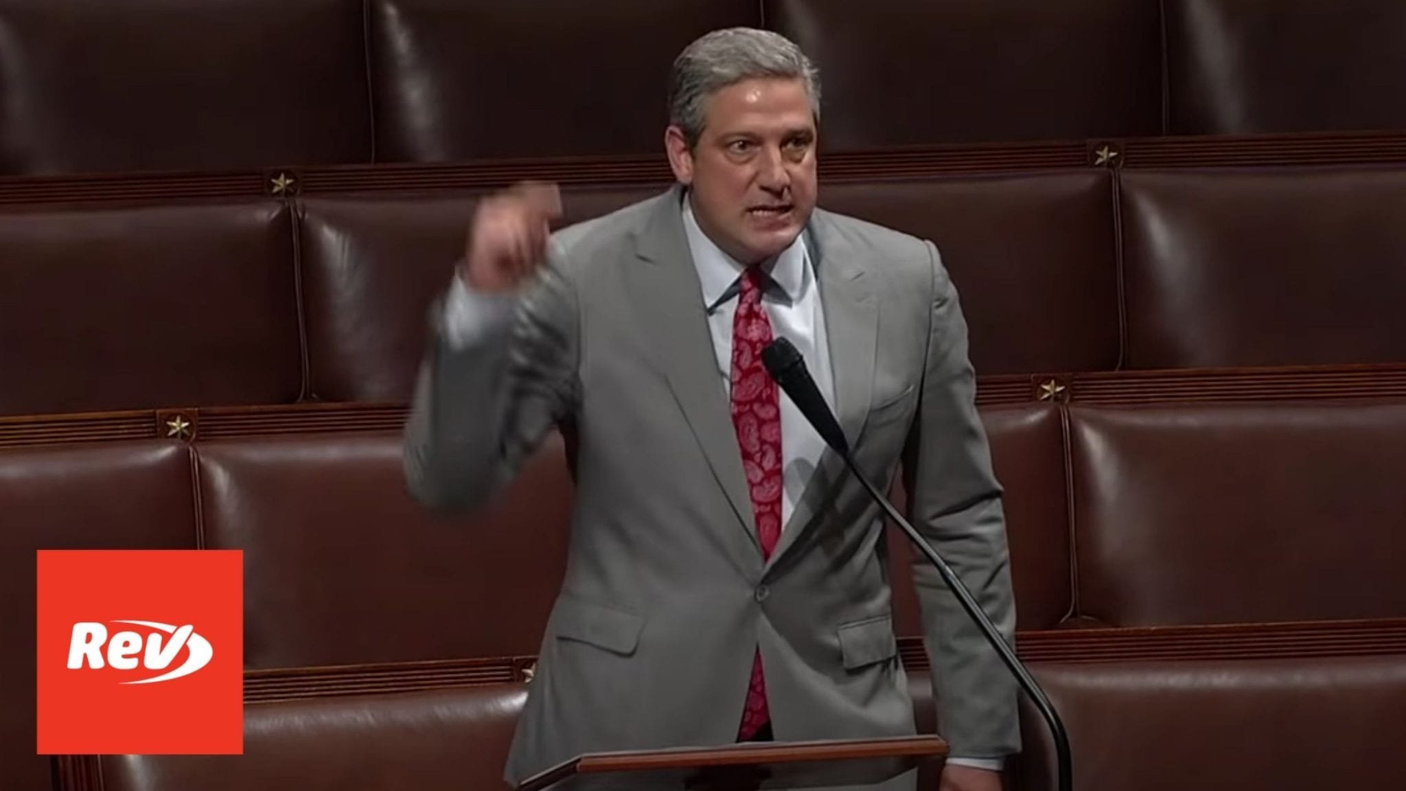 Rep. Tim Ryan January 6 Commission House Floor Speech Transcript