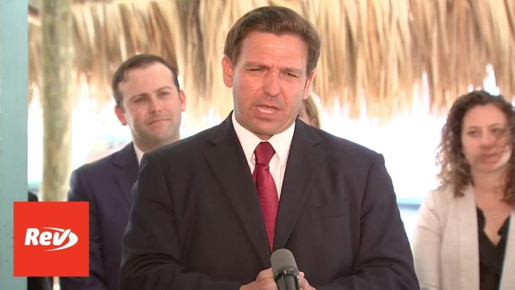 Florida Gov. Ron DeSantis Press Conference Transcript May 3: Suspends All Local COVID-19 Emergency Orders