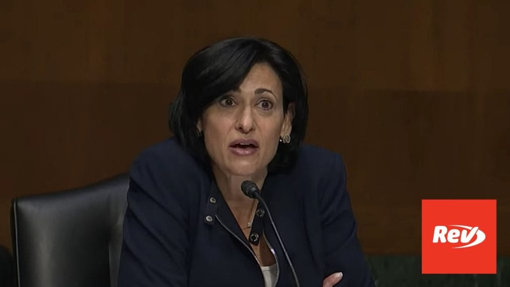 Dr. Fauci, CDC Director Testify Before Senate on COVID-19 Guidelines Transcript