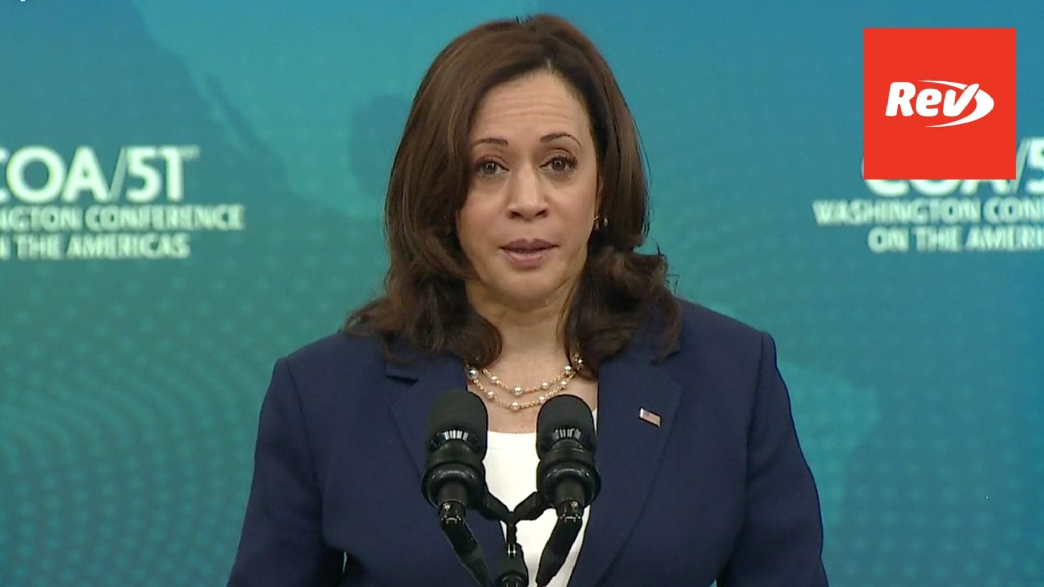 Kamala Harris Speech Transcript Washington Conference on the Americas May 4
