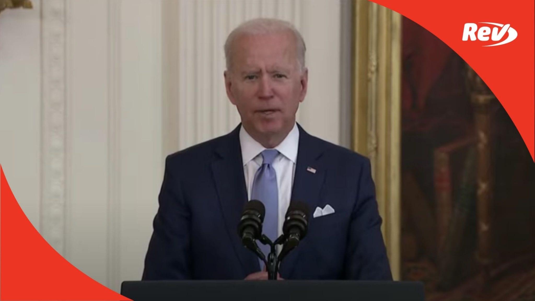 Joe Biden Awards Medal of Freedom to Ralph Puckett Speech Transcript May 21