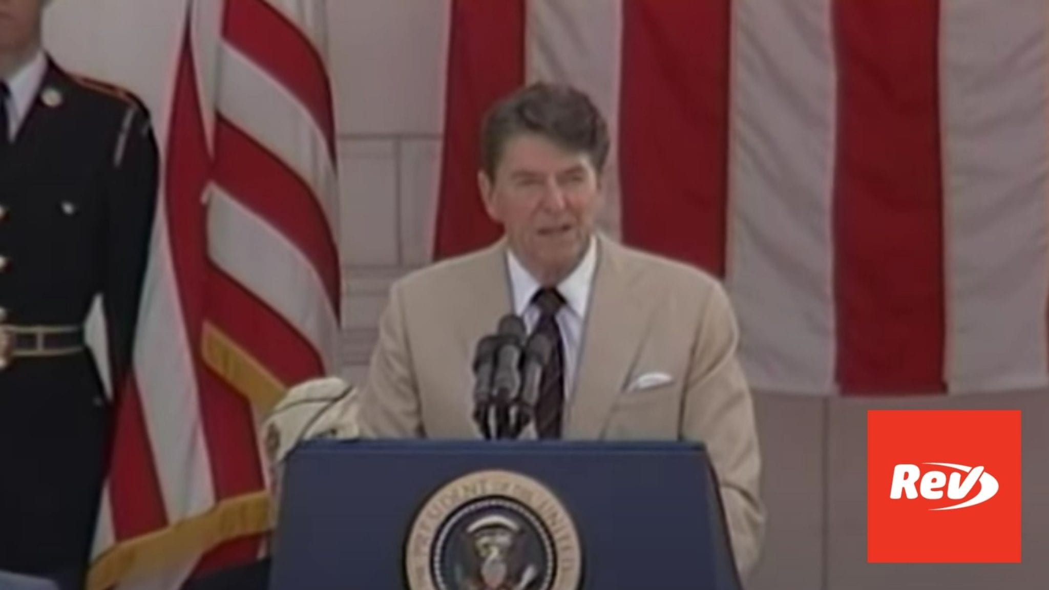 Ronald Reagan Memorial Day Speech Transcript 1982