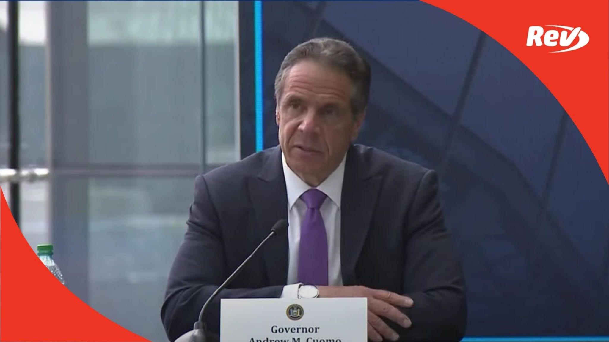 New York Gov. Andrew Cuomo COVID-19 Press Conference Transcript May 11